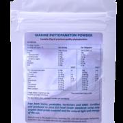 the health factory marine phytoplankton 15 gram sachet vegan omega 3 EPA back